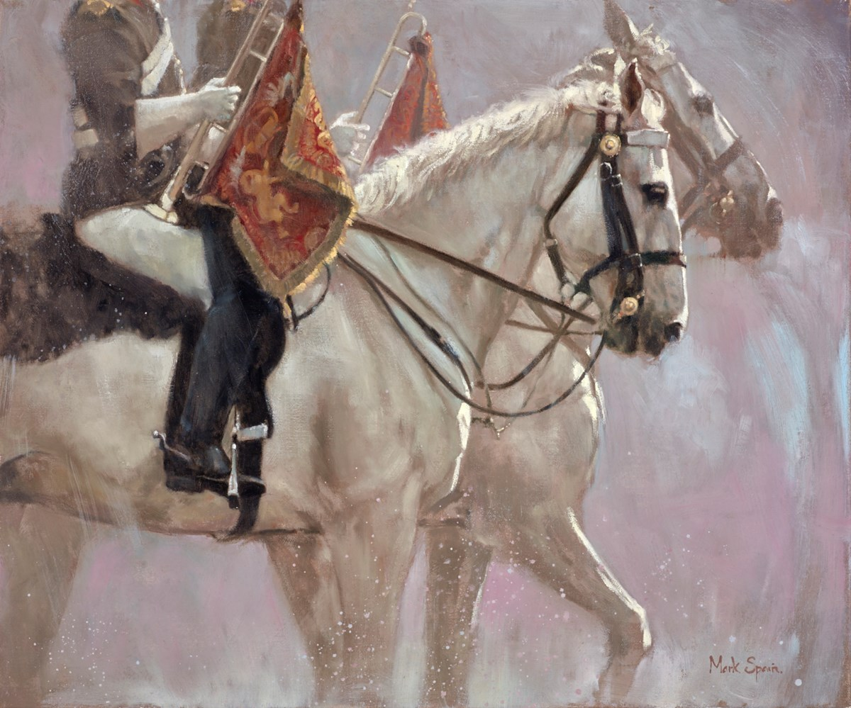 Parade by mark spain -  sized 24x20 inches. Available from Whitewall Galleries